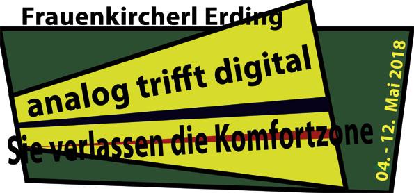 """Einladung """"analog trifft digital"""" Vorderseite"""